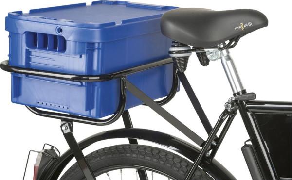 Postbox für Hinterrad-Gepäckträger 47x26,5cm