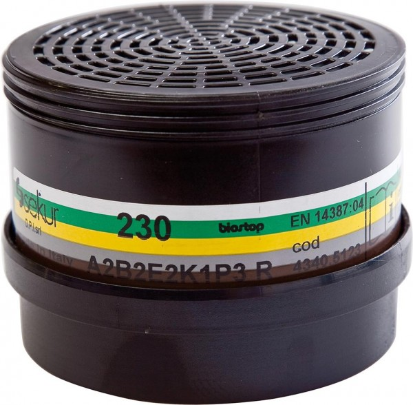 Filter 230A2B2E2K1P3R D f.Polimask 230 (Pck.a1St)