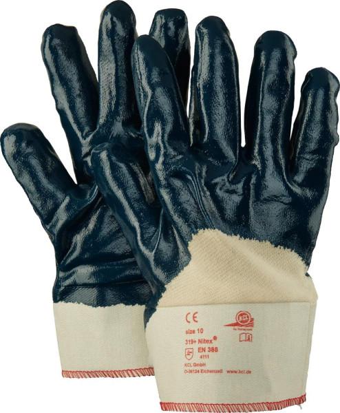 Handschuh Nitex 319, 280 mm, Gr.10, blau