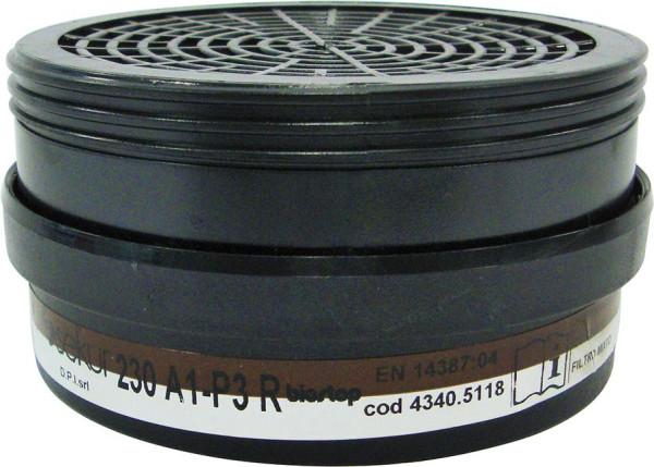 Filter 230, A1-P3R D f.Polimask 230 (Pck.a2St)
