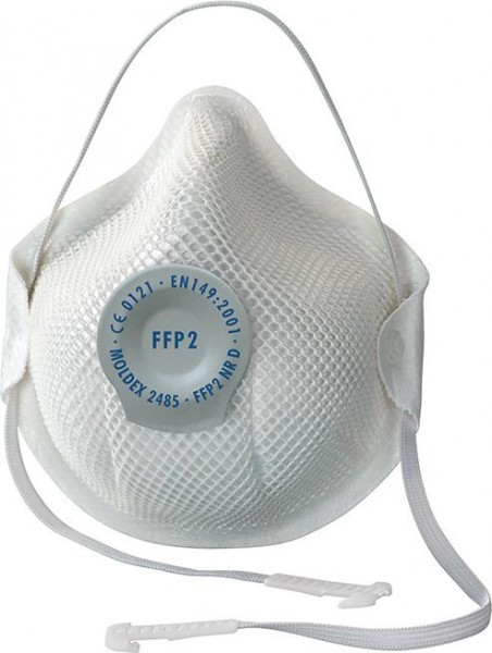 Atemschutzmaske 2485 Ventil, FFP2 NR D