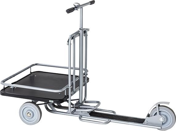 Scooter m. Ladefläche Räder unplattbar