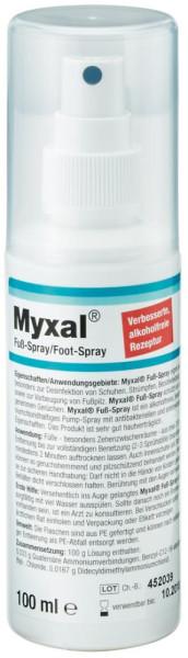 Fußspray Myxal 100 ml Flasche