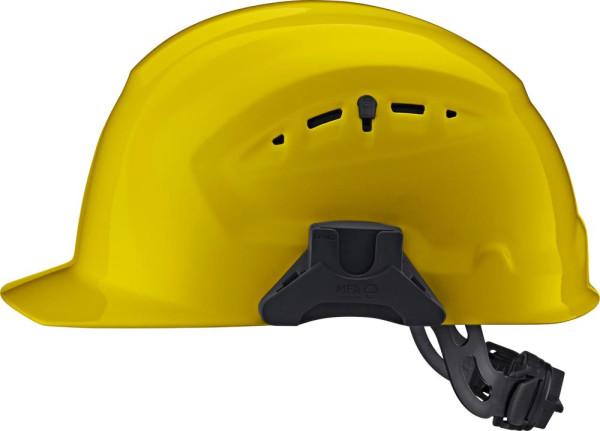 Schutzhelm CrossGuard mit Drehverschluss, gelb