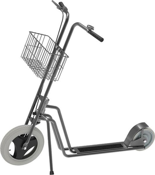 Scooter m. Korb Räder unplattbar