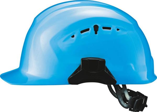 Schutzhelm CrossGuard mit Derhverschluss, blau