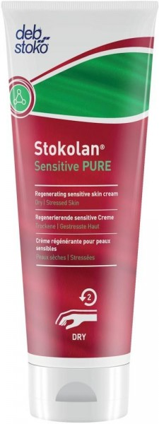 Stokolan Sensitive PURE Hautpflege 100 ml Tube