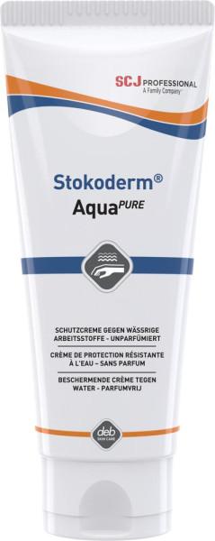 Stokoderm Aqua PURE Hautschutz 100 ml Tube