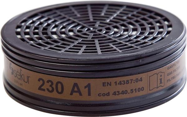 Filter 230, A1 für Polimask 230(Pck. a 2St.)