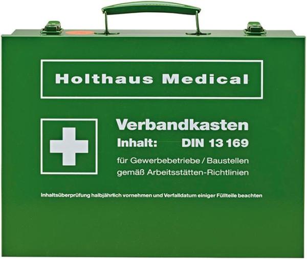Verbandkasten Nr.63169, DIN 13169-E, grün