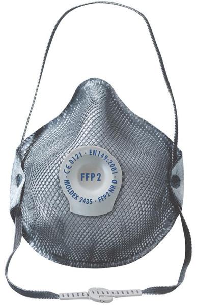 Atemschutzmaske 2435 Ventil, FFP2 NR D